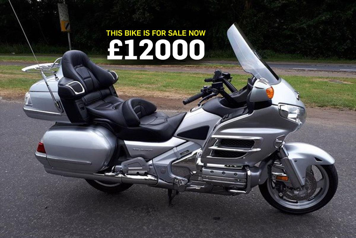 Bike Of The Day Honda Gl1800 Gold Wing Mcn