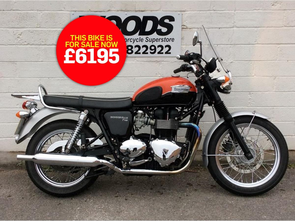 Bike Of The Day Triumph Bonneville T100