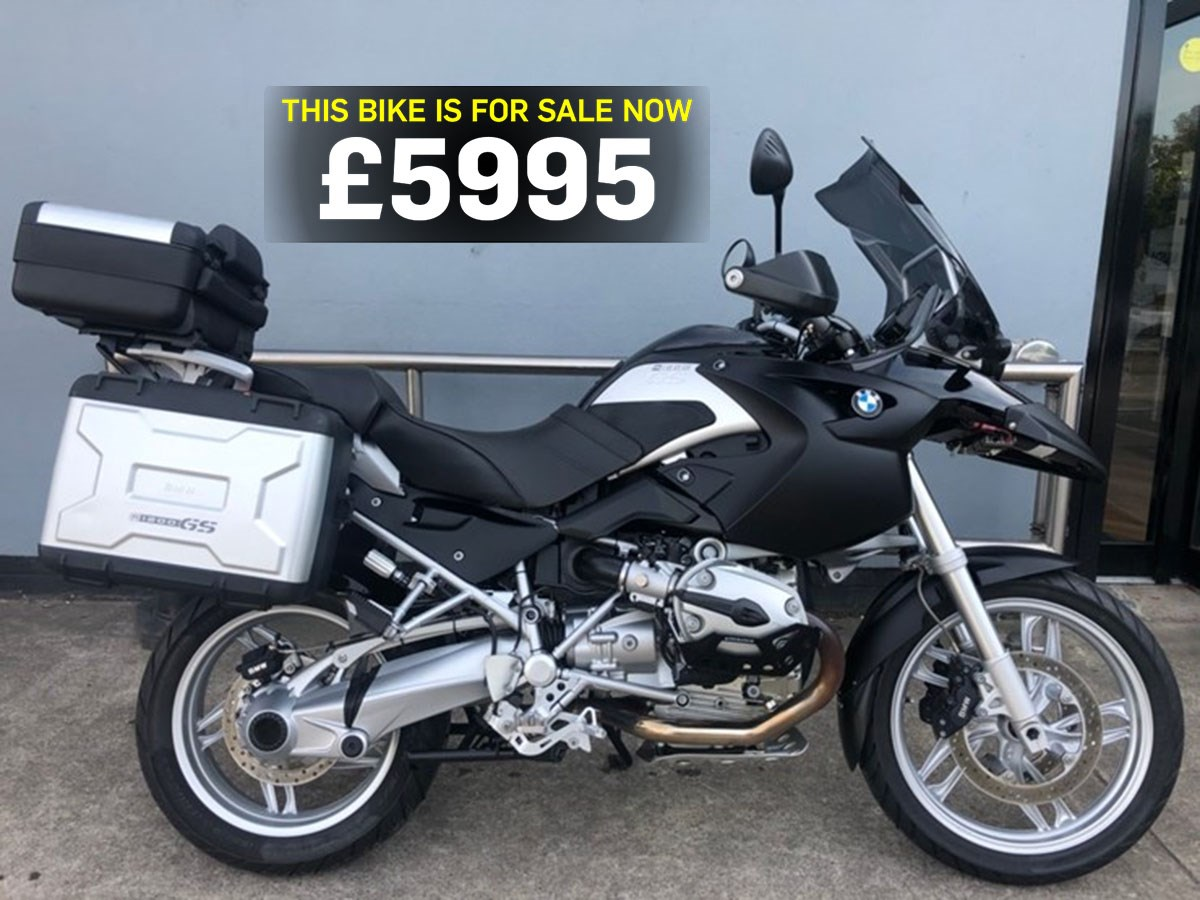 Bike Of The Day Bmw R1200gs Mcn