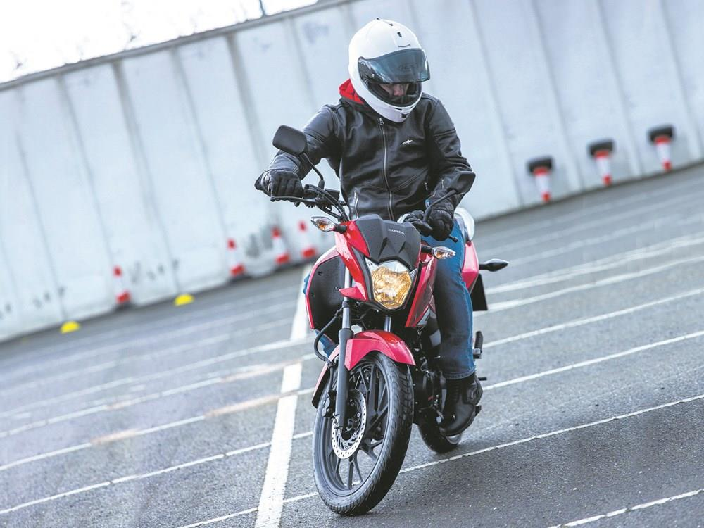 How to make motorbike U turns easy