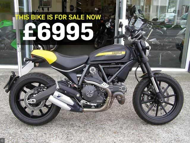 Bike Of The Day Ducati Scrambler Full Throttle