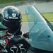 Scott Redding rides the new Piaggio MP3 around Mugello