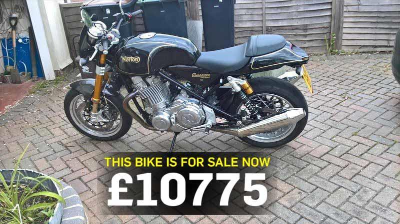 Bike of the day: Norton Commando 961
