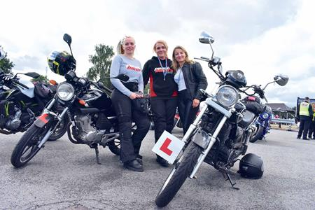 Precisely does Biker rally women ride naked