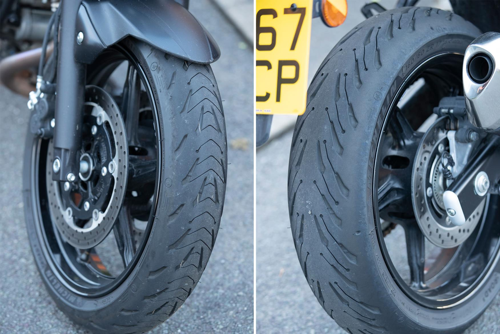 Product Review Michelin Road 5 Tyres Mcn