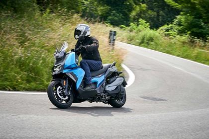 the BMW C400X has a sportier edge than some of its rivals