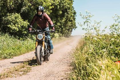 The Ducati Scrambler 1100 Sport is capable of mild off-road