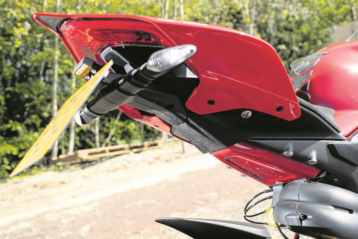Evotech Performance Ducati Panigale V4 S Tail Tidy 2018+
