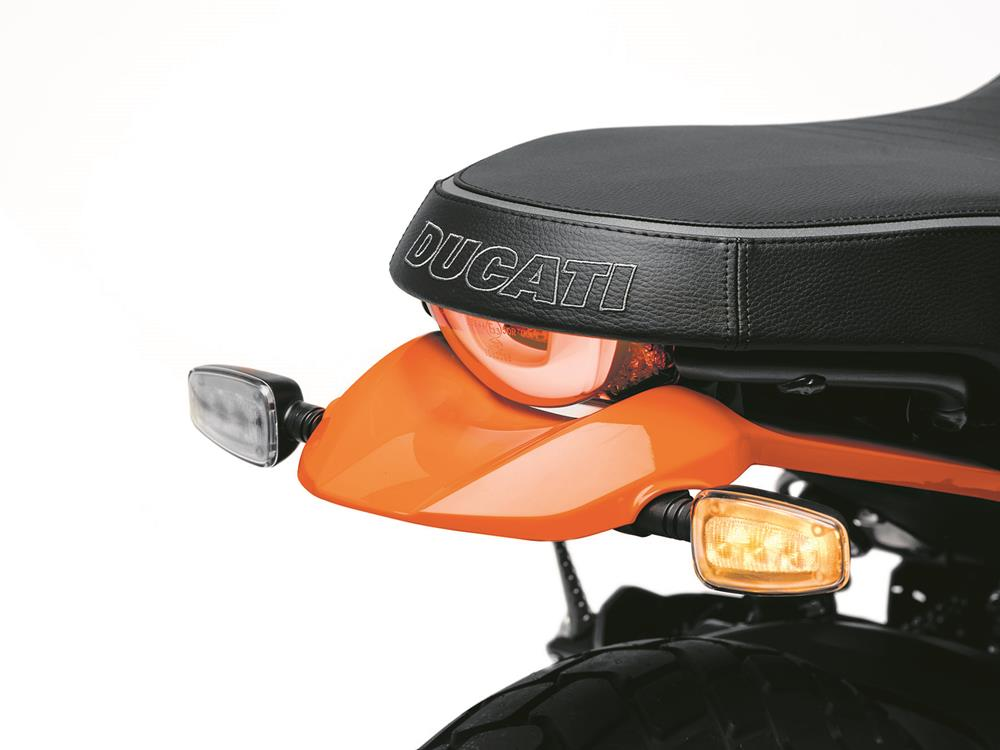 Ducati Scrambler 800 Icon rear end