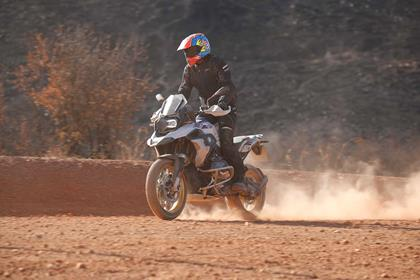 MCN's Neeves tests the BMW R1250GS off road