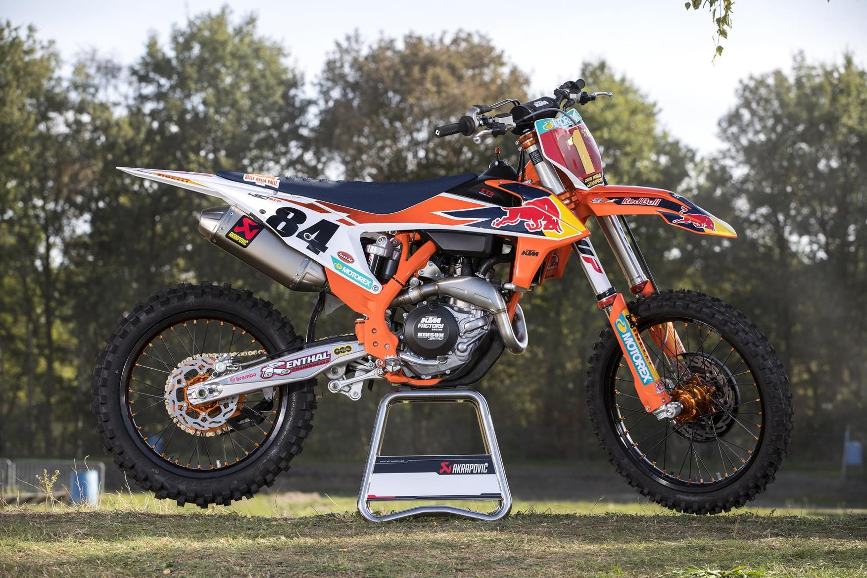 2019 Ktm Sxf >> Limited edition Jeffrey Herlings KTM 450 SX-F released | MCN