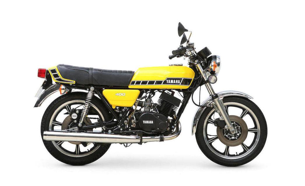 Devitt MCN Ally Pally Show bike of the day: Yamaha RD400