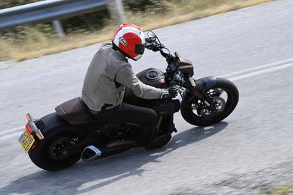 Harley-Davidson FXDR in action