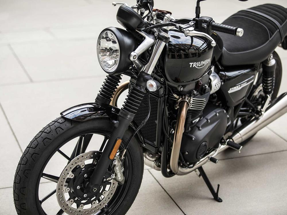 The Street Twin sports an understated design