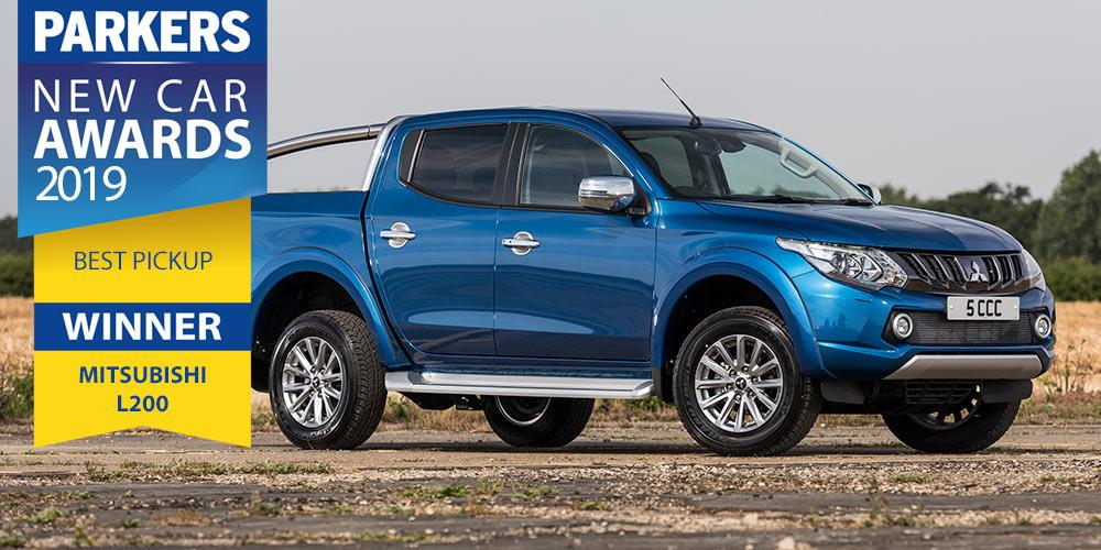 mcn's sister website parkers awards the mitsubishi l200 best pickup