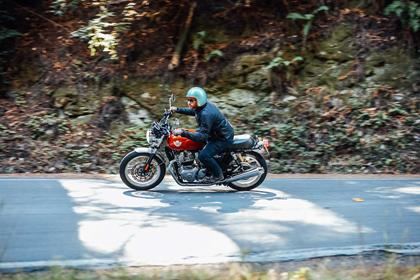 The Royal Enfield Interceptor has a 648cc engine size