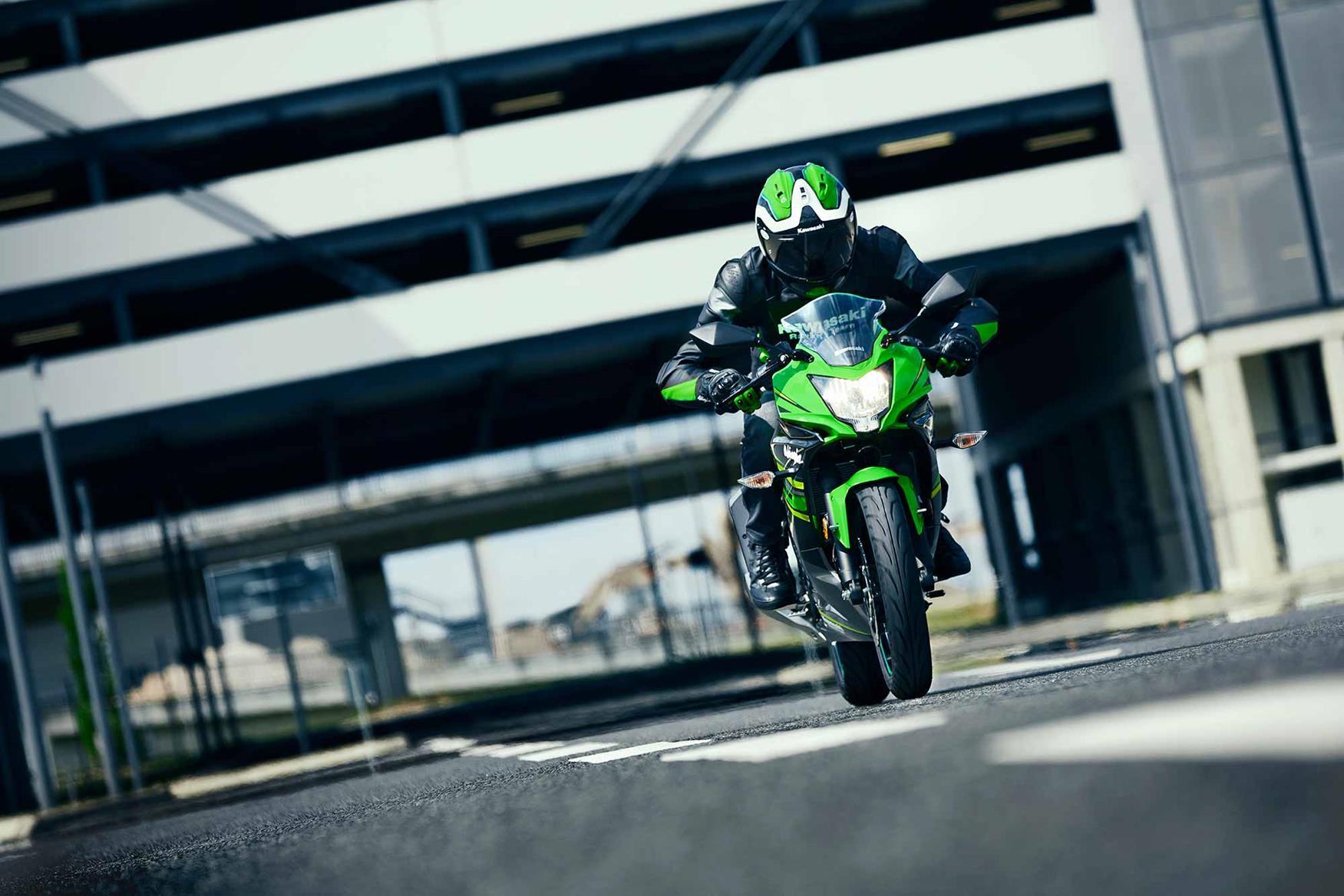 Kawasaki Z 125 Kawasaki Ninja 125 2019 - MOTORRADonline.de