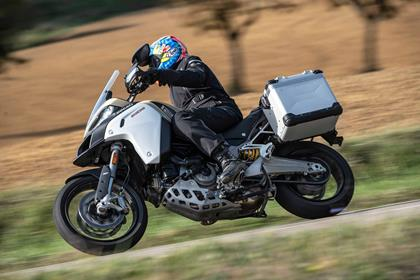 The Multistrada 1260 Enduro can be a compromise on-road