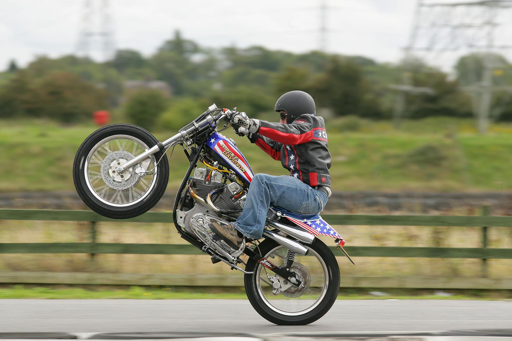 Evel Knievel S Harley Davidson Xl1000 Up For Auction: The Day MCN Rode An Evel Knievel Harley-Davidson XR750 Replica