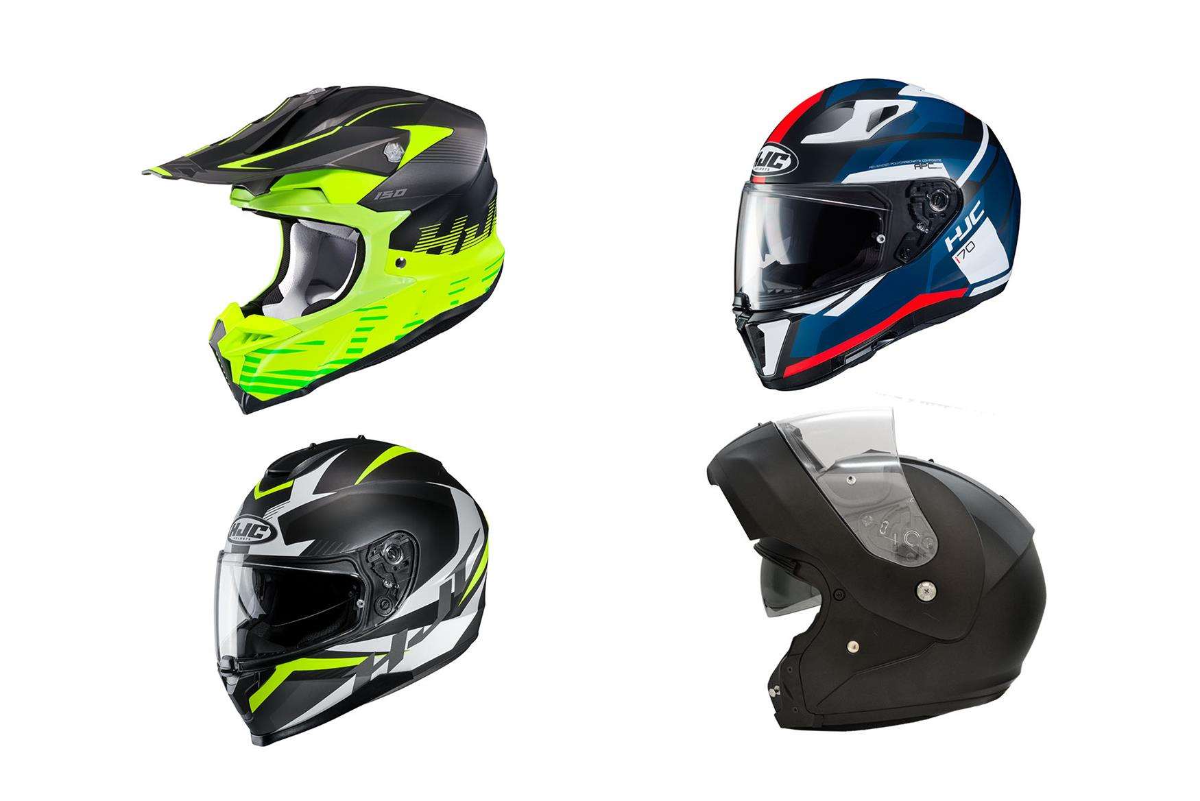 HJC unveil four new helmets for 2019