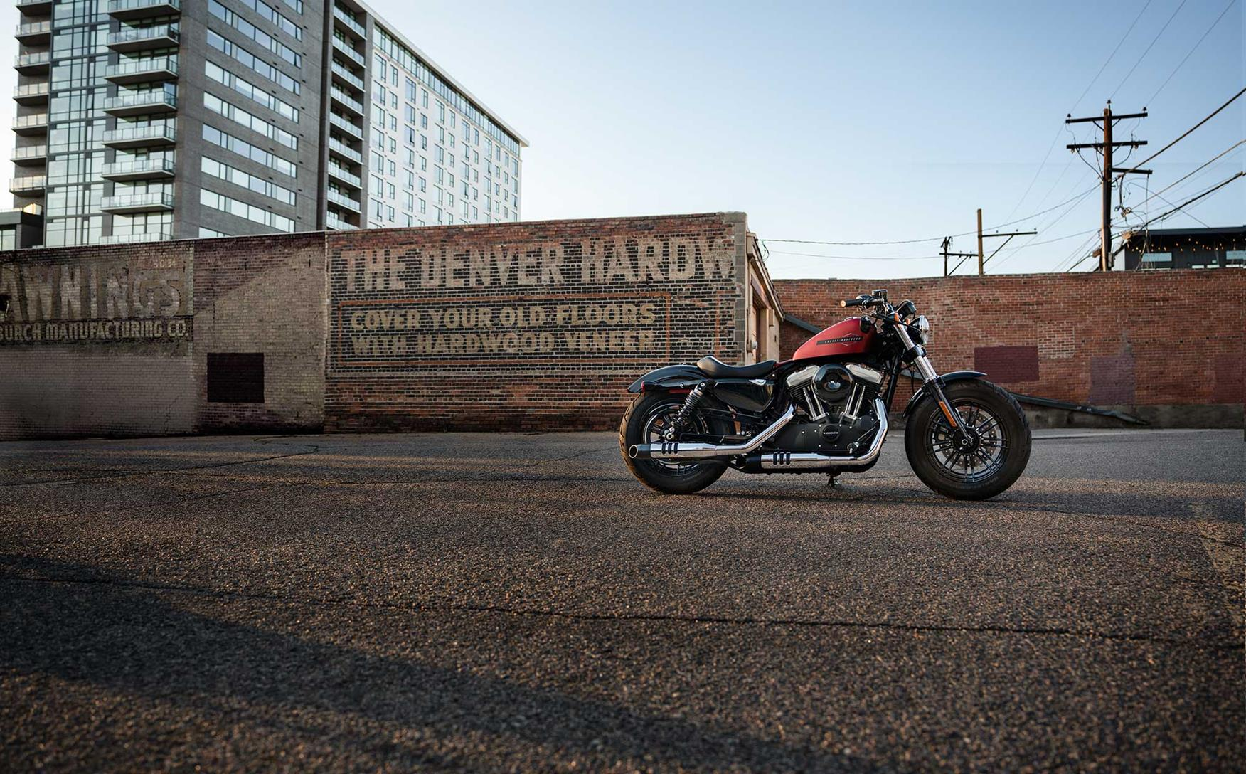 HARLEY-DAVIDSON SPORTSTER 1200 Forty-Eight XL1200X (2018-on