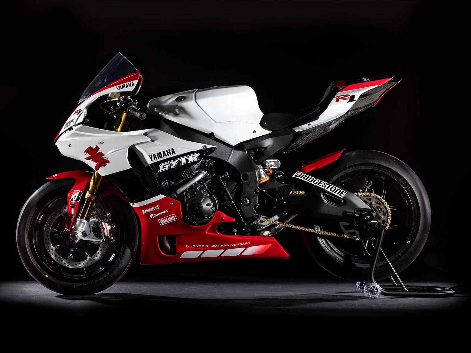 Special edition Yamaha GYTR R1 costs £35,000