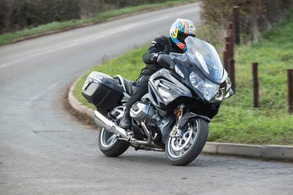 The BMW R1250RT in action