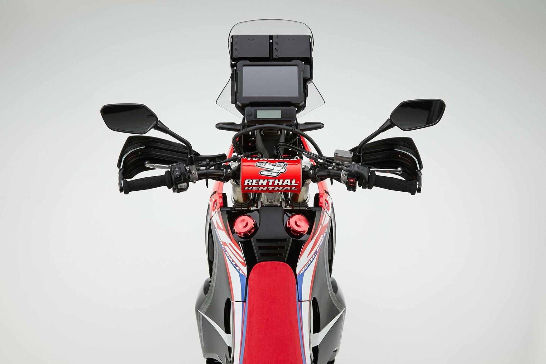 Exploring Hondas Crf450l Rally Concept