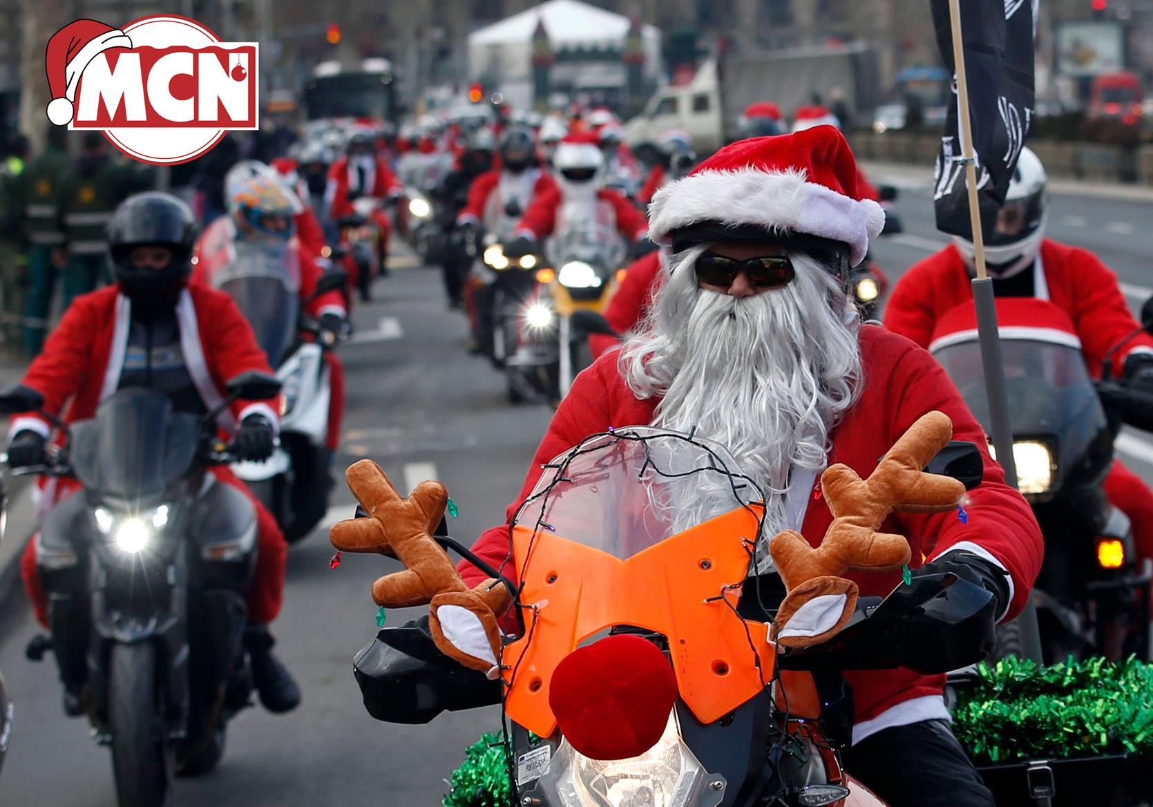 Join a Santa toy run this Christmas! Here\'s 7 to choose from... | MCN