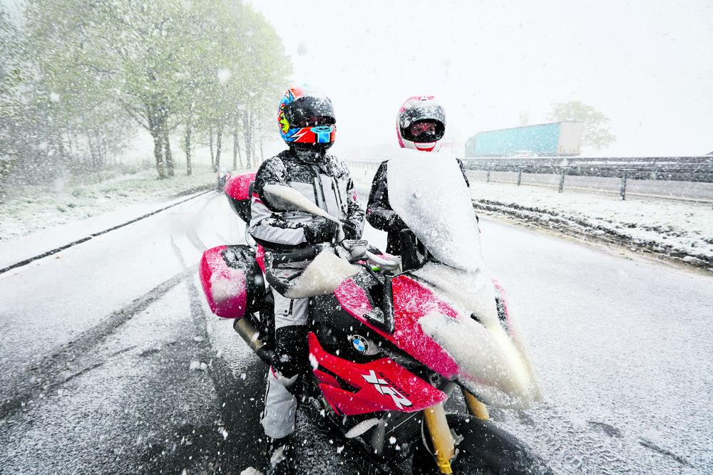 1d0b67560a9 MCN s essential guide to using a motorbike in winter