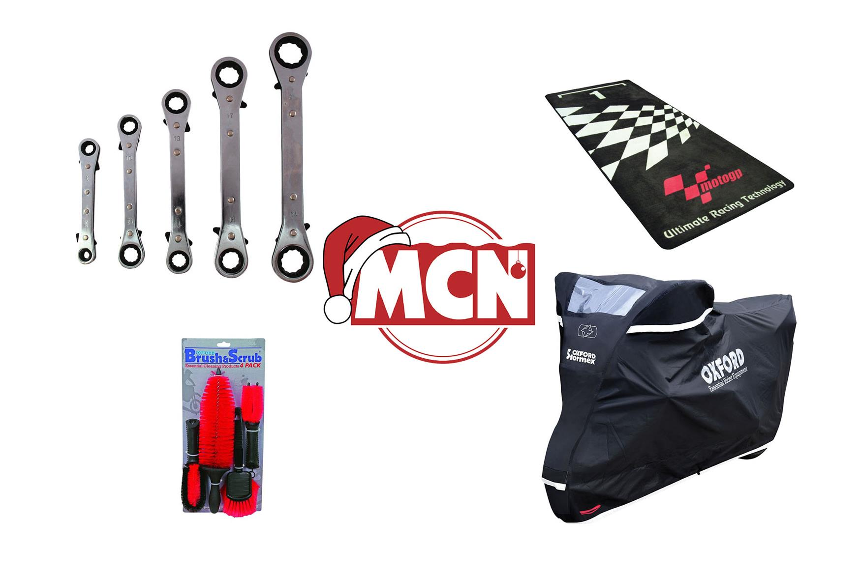Top 7 Christmas presents for your motorbike