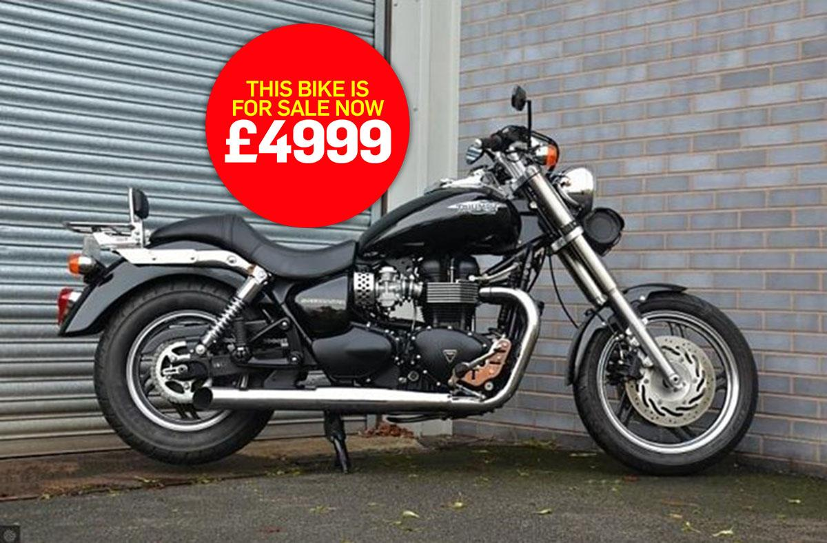 Bike of the day: Triumph Speedmaster