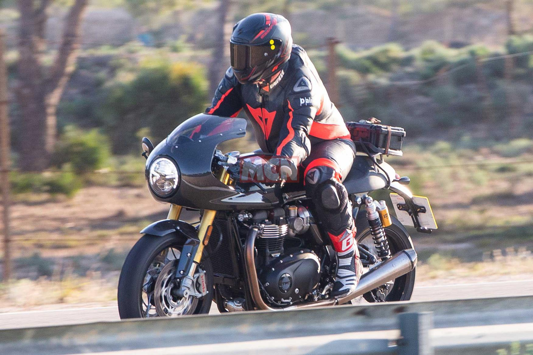 Special edition Triumph Thruxton R incoming