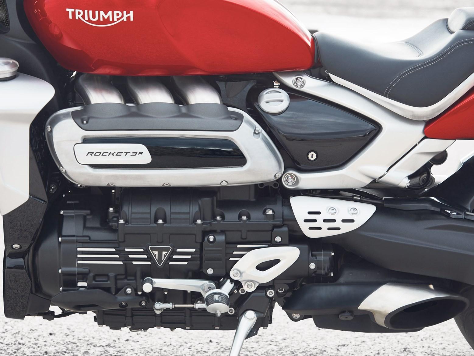 Tech explained: the Triumph Rocket 3's enormous engine