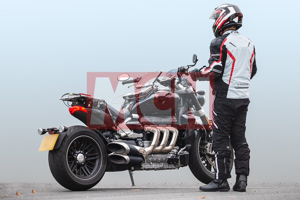 Producion Triumph Rocket 3 Gt Spotted