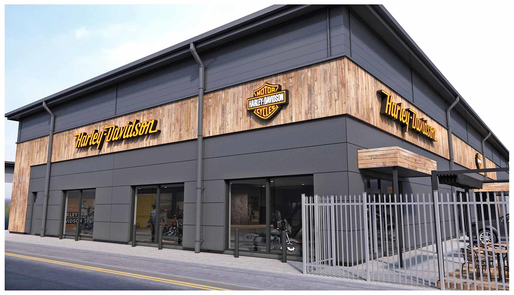 Newmarket gets UK's largest Harley-Davidson dealership