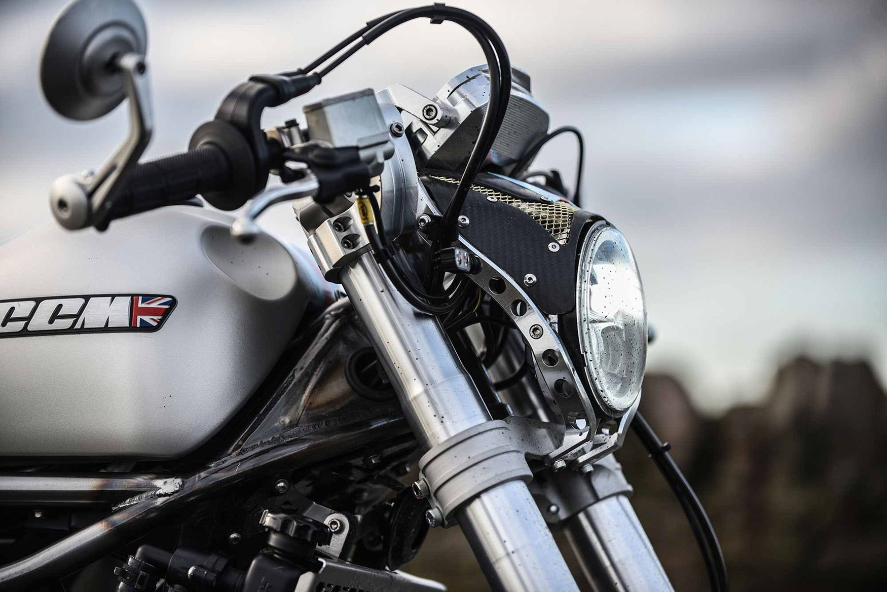 CCM SPITFIRE CAFE RACER (2019-on) Review