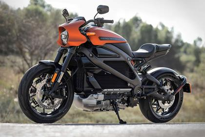 The LiveWire is the firm's first electric motorcycle