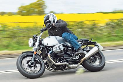 The R nineT Pure in action