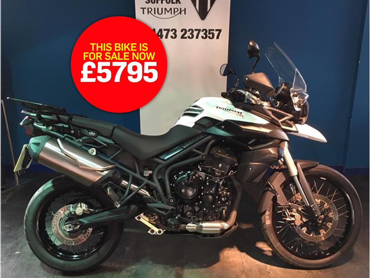 Bike Of The Day Triumph Tiger 800 Xc