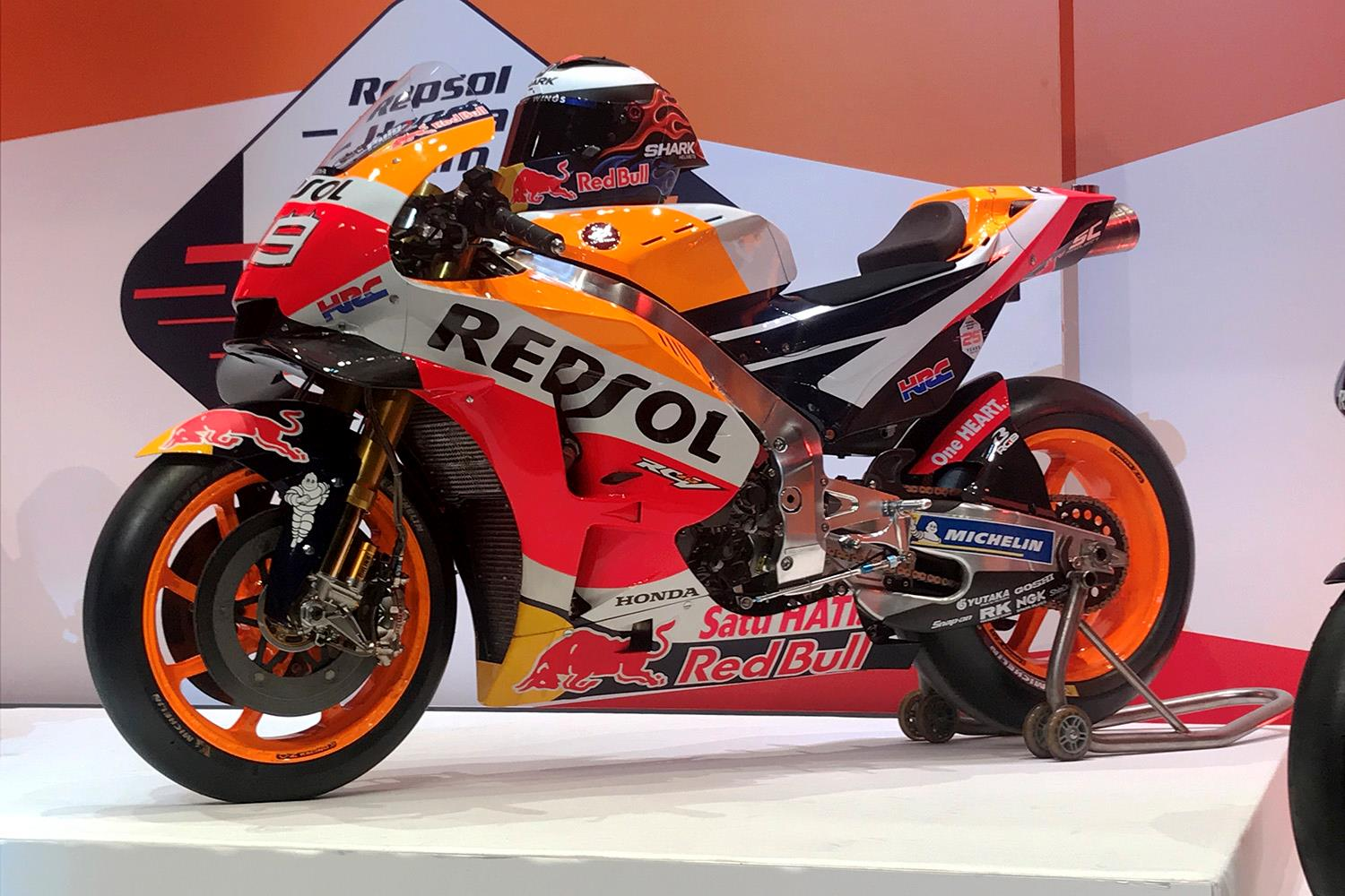 MotoGP: Honda unveil unchanged livery for 2019