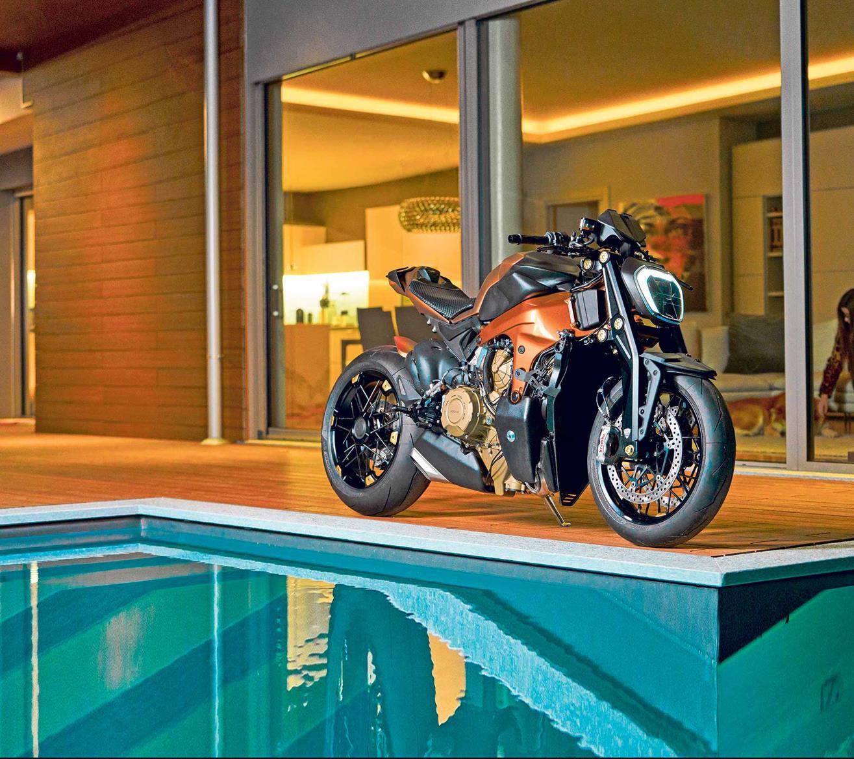 0c2d73c486 Italian design house create Ducati Panigale V4 streetfighter