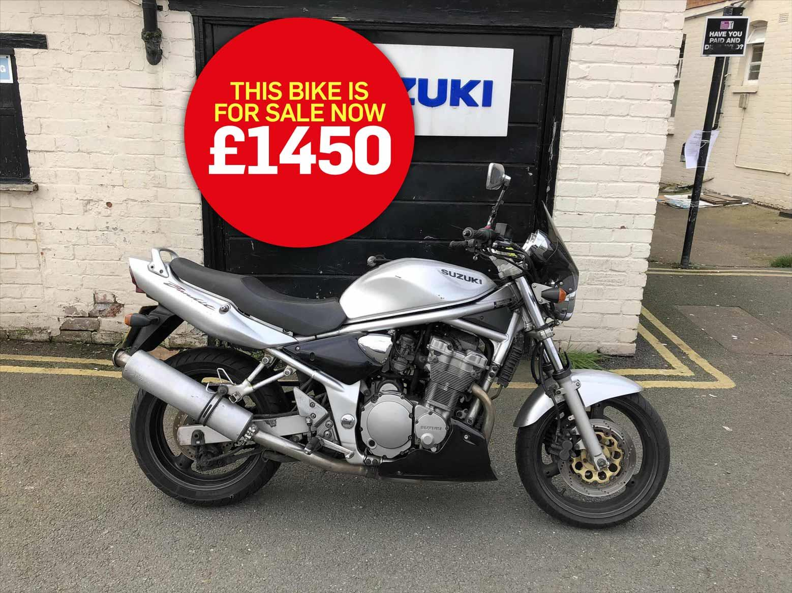 Bike Of The Day Suzuki Gsf600 Bandit