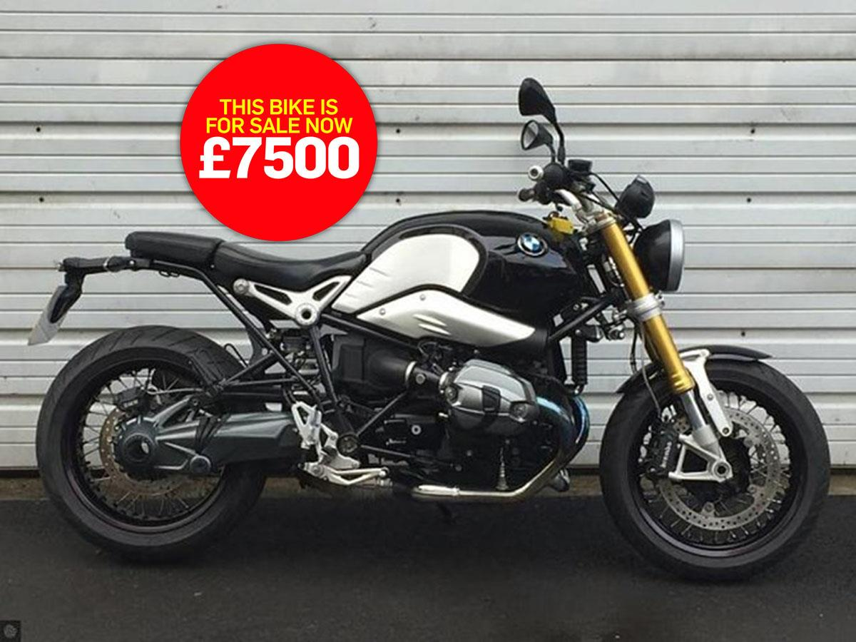 bike of the day: BMW R nineT
