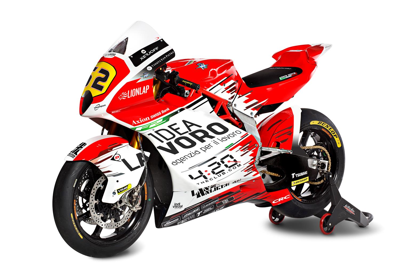 Moto2: Forward Racing show off new MV Agusta