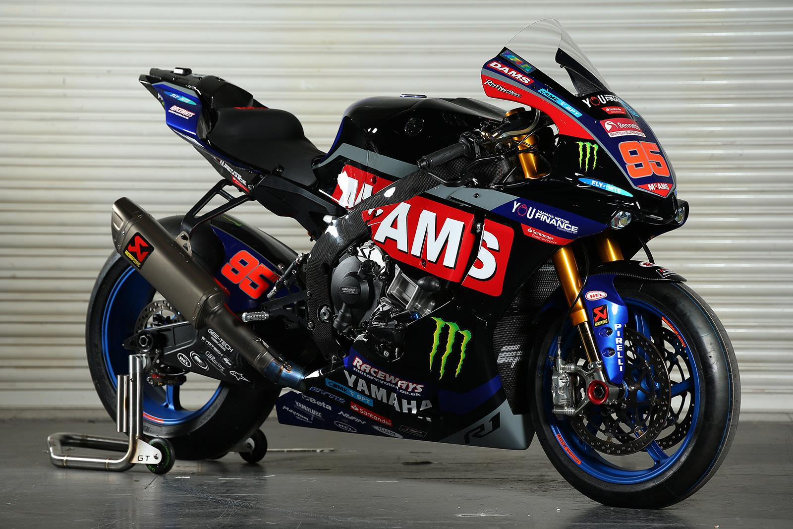 BSB: McAMS Yamaha unveil 2019 livery