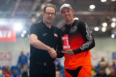 Peter Hickman announced as MCN Racer of the Year