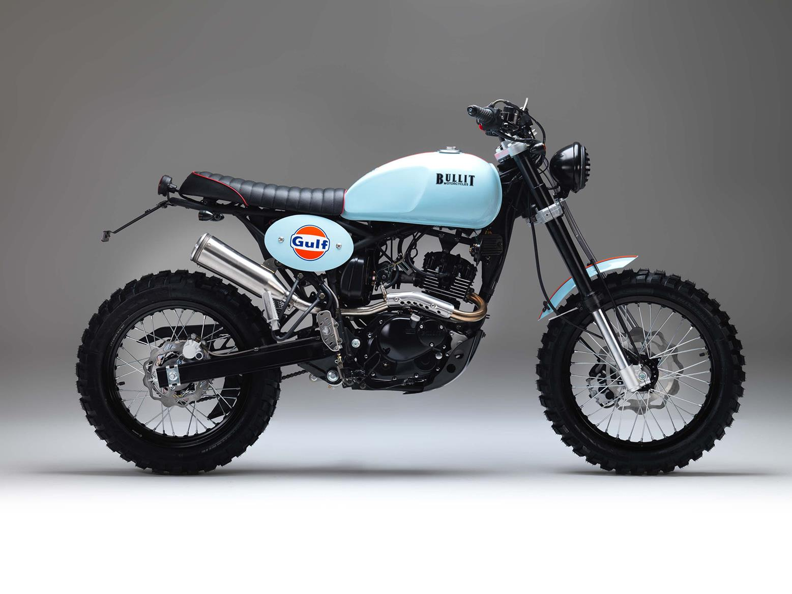 Bullit Motorcycles unveil Gulf Oil limited editions