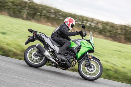 The Kawasaki Versys-X 300 in action