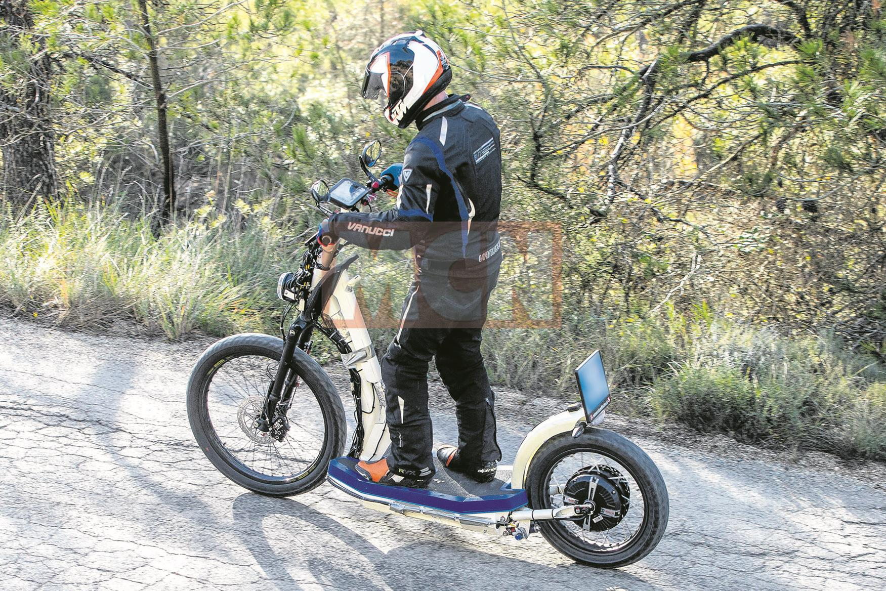 Ktm E Scooter Spy Shot